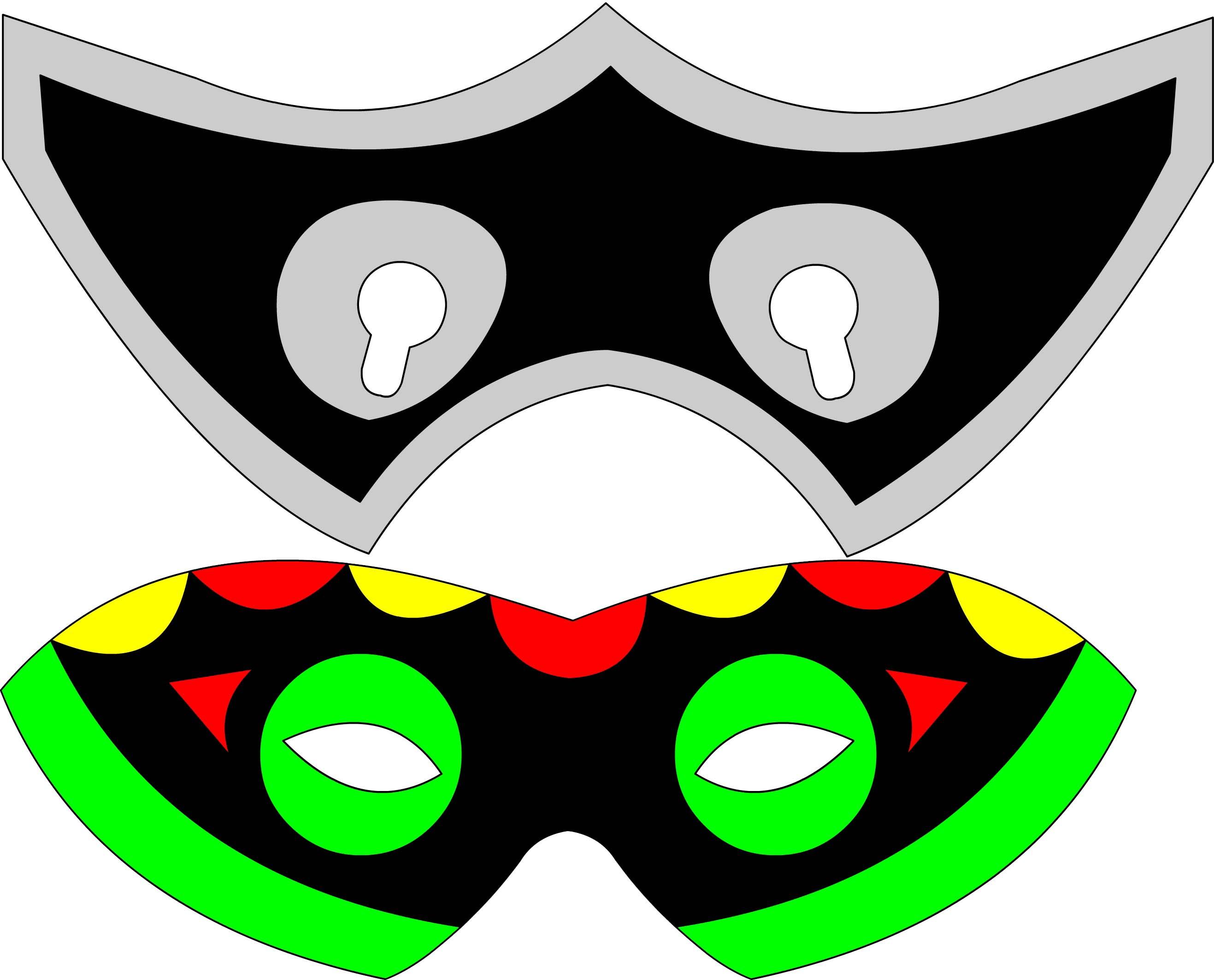 Как сделать маску своими руками мальчикам 78